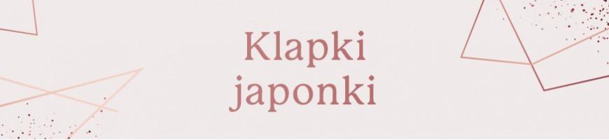 Klapki, japonki jednorazowe kosmetyczne